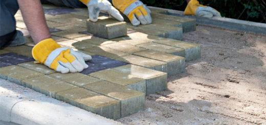 Основание для укладки тротуарной плитки