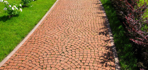 Как правильно класть тротуарную плитку