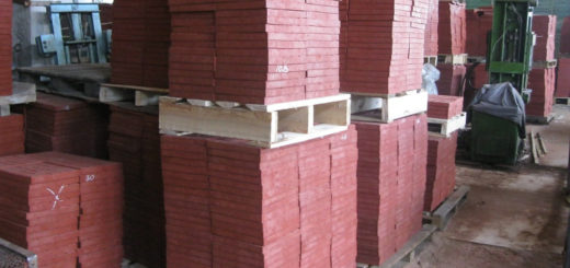 Этапы производства плитки