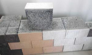 Покраска керамзитобетонных блоков