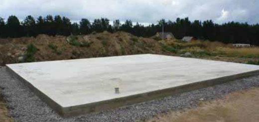 Характеристики ленточного фундамента и монолитной плиты