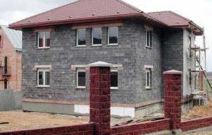 Наружная отделка дома из керамзитобетонных блоков