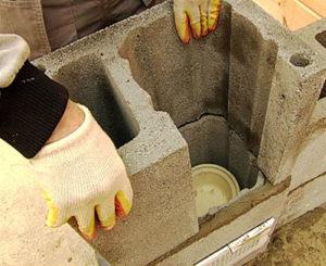 Преимущества использования керамзитоблока для дымохода