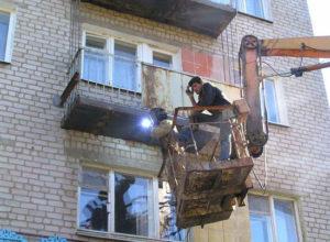 Технология ремонта балконной плиты