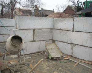Фундамент из керамзитоблоков