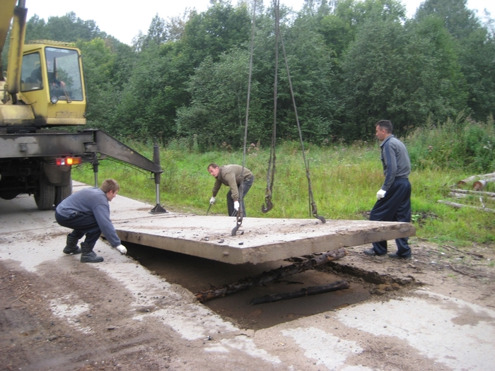 Как уложить дорожную плитку