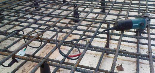 Бетонирование плиты перекрытия