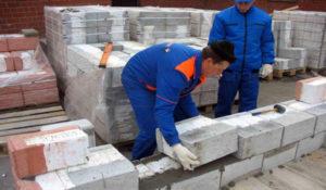 Правила укладки керамзитных блоков