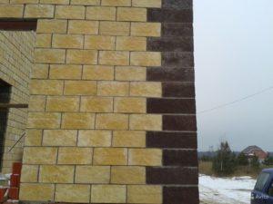 Преимущества керамзитобетонных блоков с фасадом