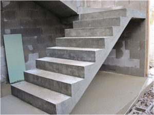 Лестничные марши своими руками из бетона