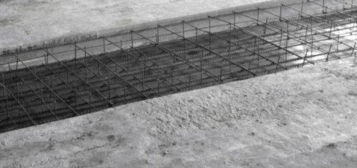 как замонолитить участок между плитами перекрытия