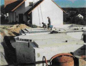 Опирание плиты перекрытия на газобетон