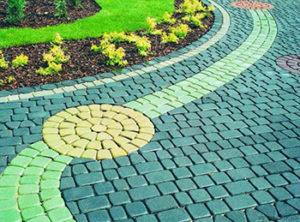 Технология окрашивания тротуарной плитки