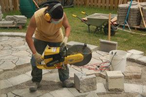 Чем резать тротуарную плитку
