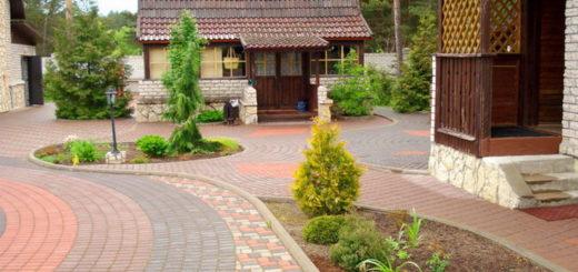 Выбираем тротуарную плитку во двор