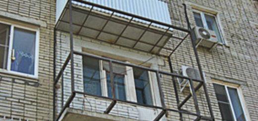 Ремонт балконной плиты в хрущевке своими руками