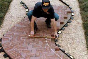 Советы по монтажу тротуарной плитки