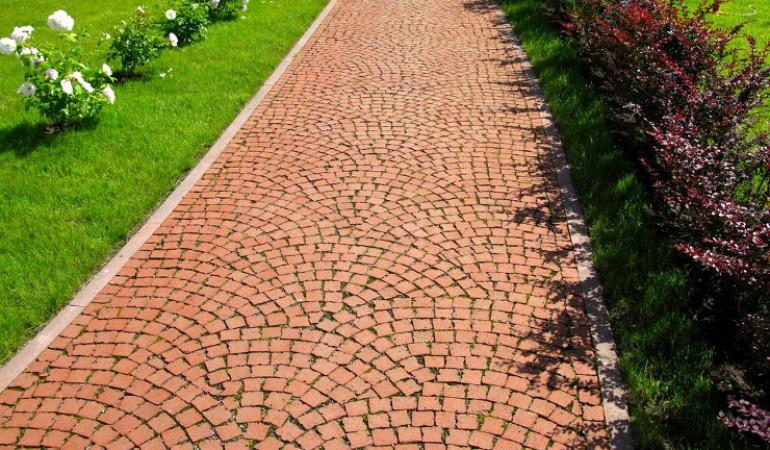 Как положить тротуарную плитку в саду своими руками фото 451